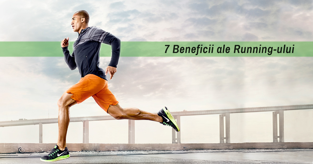 7 beneficii ale runningului