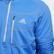 Bluza barbati adidas Performance Climawarm Gridded 1/4 Zip Golf DQ1785