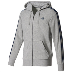 Hanorac barbati adidas Performance Ess 3S Full-Zip S98788