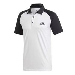 Tricou barbati adidas Performance Club Colorblock Polo DU0857