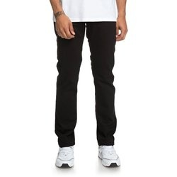 Blugi barbati DC Shoes Worker Black Straight Fit EDYDP03385-KVJW