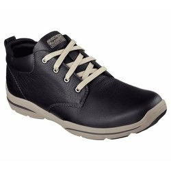Ghete barbati Skechers Relaxed Fit HarperMelden 64857/BLK