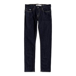 Blugi barbati Dc Shoes Worker Indigo Rinse Slim Fit Jeans EDYDP03399-BTKW