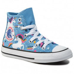 Tenisi copii Converse Chuck Taylor All Star Unicorns Junior High  665472C