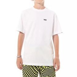Tricou copii Vans Left Chest Tee Bo VN0A4MQ3WHT