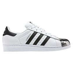 Pantofi sport femei adidas Originals Superstar Metal Toe W White BB5114