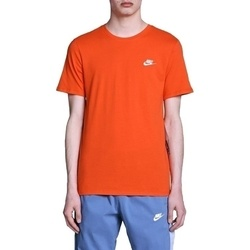 Tricou barbati Nike Sportswear T-Shirt Team Orange White AR4997-891
