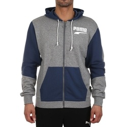 Hanorac barbati Puma Rebel Block FZ Hoody TR 58136803