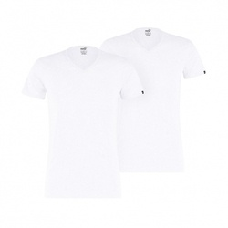 Set Tricou barbati Puma BASIC 2P V NECK 90730602