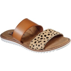 Slapi femei Skechers BOBS Blazing Star 113177/TAN