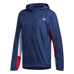 Jacheta barbati adidas Own The Run Hooded Wind ED9291