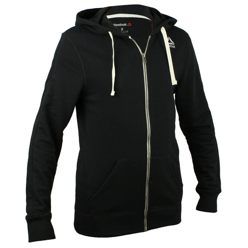 Hanorac barbati Reebok Fitness El French Terry Full Zip BK5065