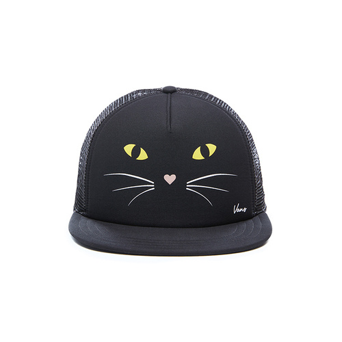 Sapca unisex Vans Lawn Party Trucke Black Cat V5KHP21