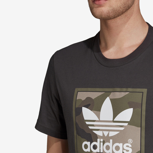 Tricou barbati adidas Originals Camouflage Tongue Label Tee DV2060