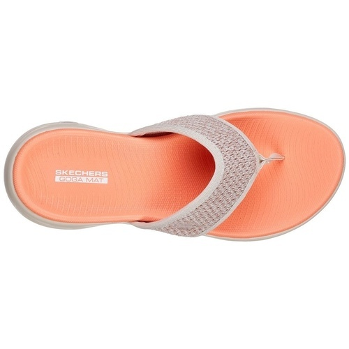 Slapi femei Skechers On the GO 600 Glossy 16150/TPOR