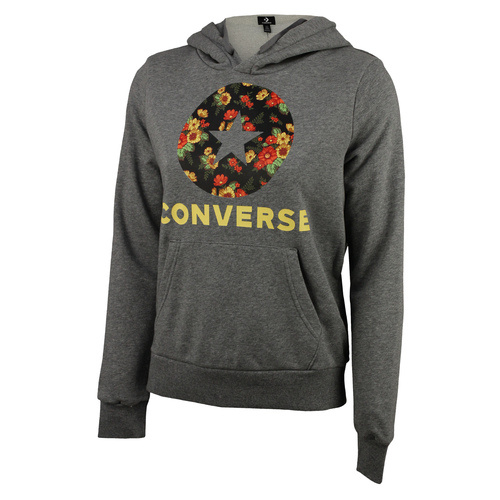 Hanorac femei Converse IN BLOOM HOODIE MASON 10017331-048
