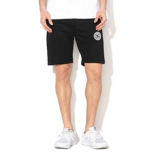 Pantaloni scurti barbati DC Shoes New Rebel Black Fleece JerseyJogging Gym EDYFB03064-KVJ0