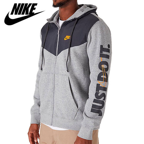 Hanorac barbati Nike Full-Zip Basketball Hoodie 931900-063