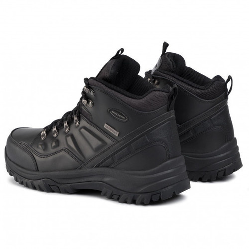 Ghete barbati Skechers Relaxed Fit Relment Traven Waterproof 65529/BBK