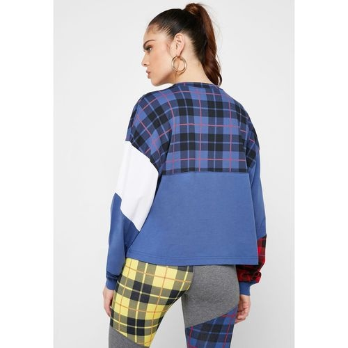 Bluza femei Nike Top Ls Plaid BV4674-469