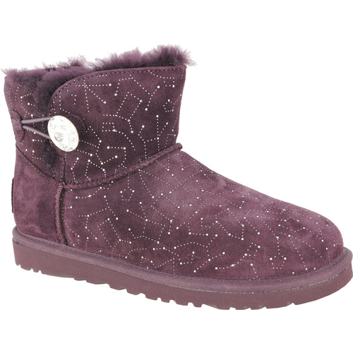 Cizme femei UGG Australia W Mini Bailey Button Bling Constellation 1008822/LGE