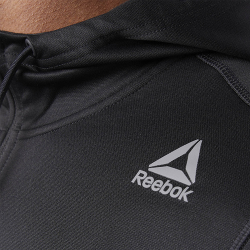 Hanorac barbati Reebok Fitness Workout Ready Full Zip CE0652