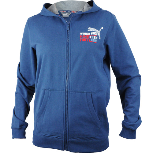 Hanorac copii Puma Style Athl Hooded Sweat Jacket 836677121