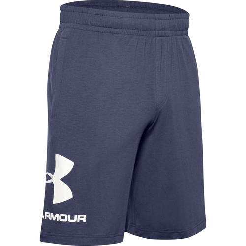 Pantaloni scurti barbati Under Armour Sportstyle Cotton Logo 1329300-497