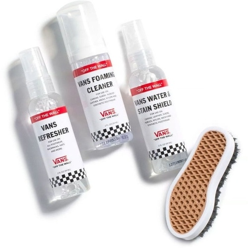Set ingrijire pantofi unisex Vans Shoe Care Travel Kit VN0A3IHTWHT1